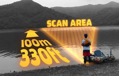 Deeper Smart Sonar PRO GLB FLDP-11, prijenosni sonar