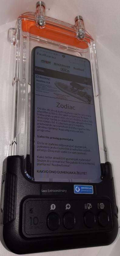 H1 Waterproof phone case